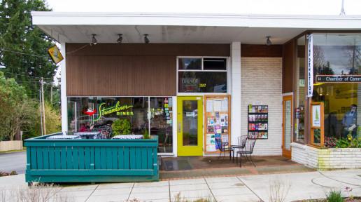 Streamliner Diner, Town & Country NE, 397 Winslow Way E, Bainbridge Island