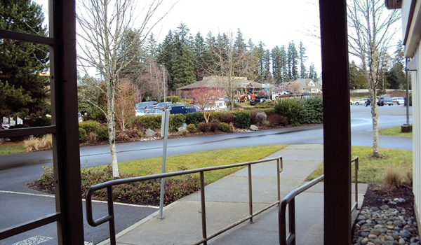 View across from 617 High School Road NE, Bainbridge Island