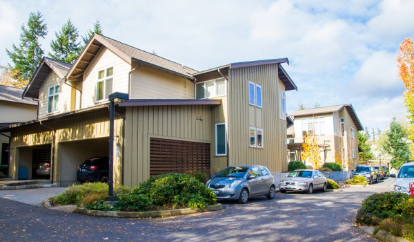 Apartment building exteriors